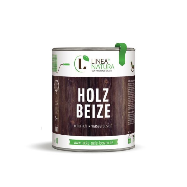 LINEA NATURA® Holzbeize - Nussbaum mittel