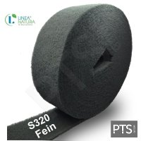 LN Schleifvlies Rollen 100 mm x 10m | Vlies Korn S320 -...