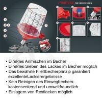 HSM SPA-System EASY LINE MIX - 60 Becher mit...
