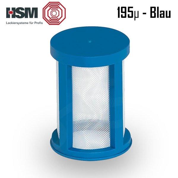 HSM - SPA-System   Siebeinsätze 195 µm (blau)   60 Filtereinsätze + 1x Einführhilfe