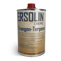 Ersolin Orangen-Terpene | Orangenterpene | Klebereste Entferner | Reiniger 1L Blechdose