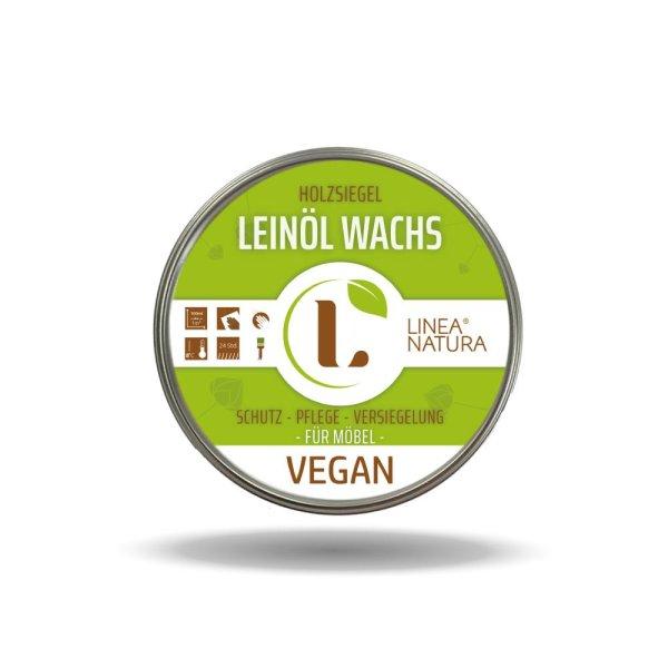 Leinöl Wachs Vegan   Möbelwachs Holzpflege Möbelpflege Politur 200ml