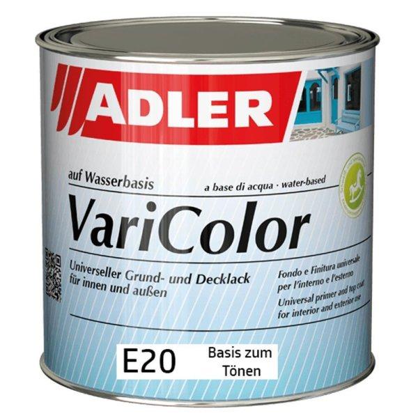 Adler Varicolor E20 Basis zum Tönen   Grund-und Deckeffektlack mit grober Glimmerstruktur