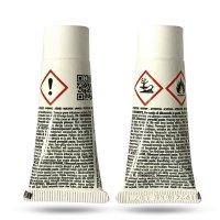 LINEA NATURA® - 2K Fein und Füllspachtel | Holzspachtel | Autospachtel 500g + Härter Weiß