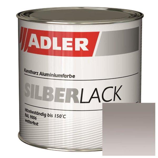 ADLER Silberlack | Metalleffektlack | Wetterfest 375ml - ca. RAL9006