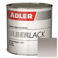 ADLER Silberlack | Metalleffektlack | Wetterfest 375ml -...
