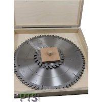 3-teiliges Kreissägen-Set in einer Holzkassette