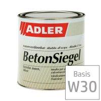 Beton-Siegel W30 farblos, Zementfarbe- Böden...
