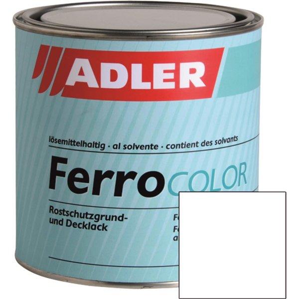 FerroColor Metalllack Weiß - W10 Basis zum tönen - 750ml