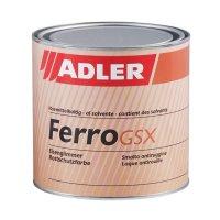 Ferro GSX Eisenglimmer Rostschutzfarbe RAL 9006 - 750ml