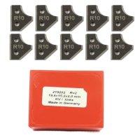 10 Stück Wendeschneidplatten HW/HM 19,6x15,2x2mm Z2...