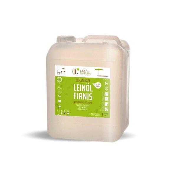 LINEA NATURA® Leinöl-Firnis 5 Liter