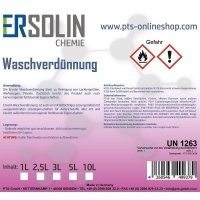Waschverdünnung | Wasch- und Reinigungsmittel | Ersolin | 5 Liter Blechkanister