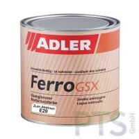 Ferro GSX Eisenglimmer Rostschutzfarbe Basis E20 - 750ml
