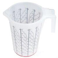 HSM Mischbechersystem ca.500ml - 25 Einlagen + 1 Außenbehälter + 1 Deckel