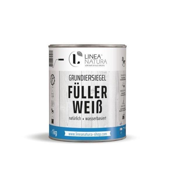 Grundiersiegel Füller Weiß | Grundierung | 1K Wasserfüller 1 kg