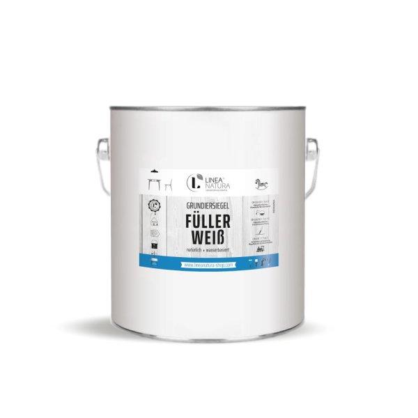 LINEA NATURA® - Grundiersiegel Füller Weiß   Grundierung   1K Wasserfüller 2,5  kg