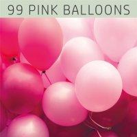 Farblack - 99 PINK BALLOONS
