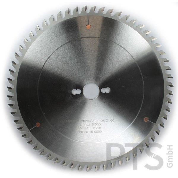 HW-Dachhohlzahn 303x3,2/2,2x30mm Z=60 HDF   10,5mm ZH   Kreissägeblatt