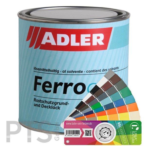 Adler Metalllack bunt Ferrocolor - Diverse RAL Farbtöne 750ml