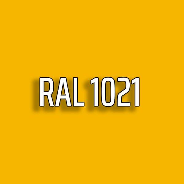 RAL1021 - Rapsgelb