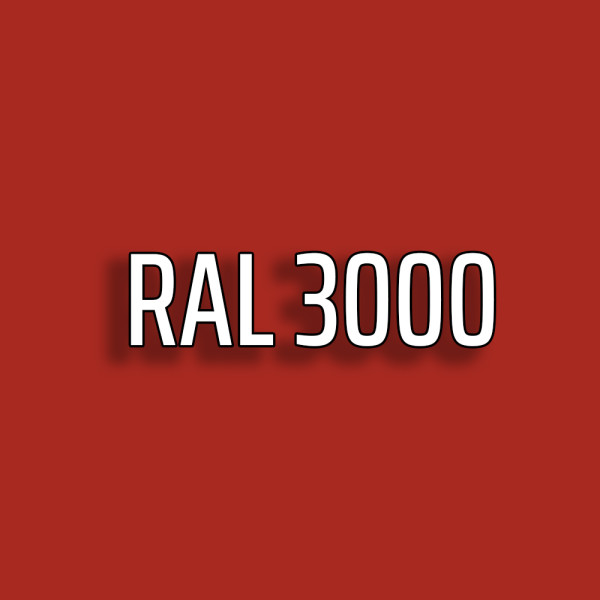RAL3000 - Feuerrot