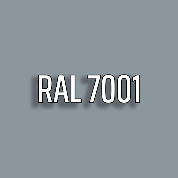 RAL7001 - Silbergrau