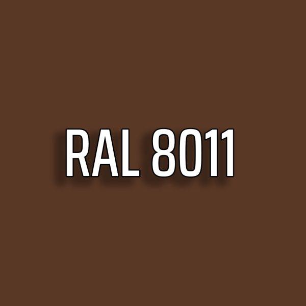 RAL8011 - Nussbraun