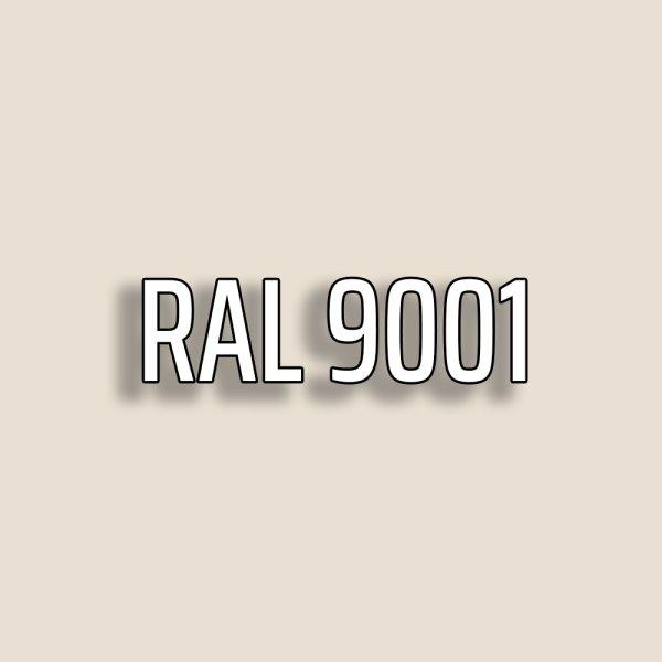 RAL9001 - Cremeweiß